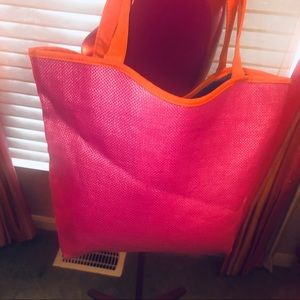 Multi color tote bag